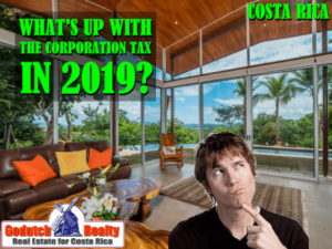 What's up with the Corporation Tax Costa Rica in 2019?