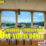magnificent terrace views of Atenas homes