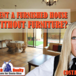 Can you rent a furnished house without furniture?