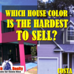 What exterior house color is the hardest to sell?